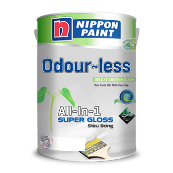 Sơn Odour-less All-in-one Siêu Bóng (5l. 1l)