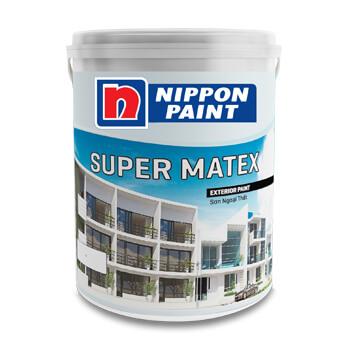 Sơn Ngoại Thất Super Matex (18l, 5l)