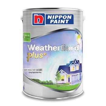 Sơn Nippon WeatherGard Plus+ (18l. 5l. 1l)