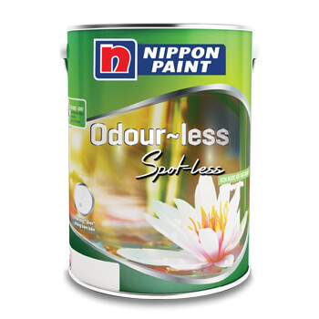 Sơn Nippon Odour-less Spot-less (18l, 5l, 1l)