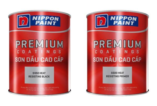 Những loại sơn chịu nhiệt của hãng Nippon